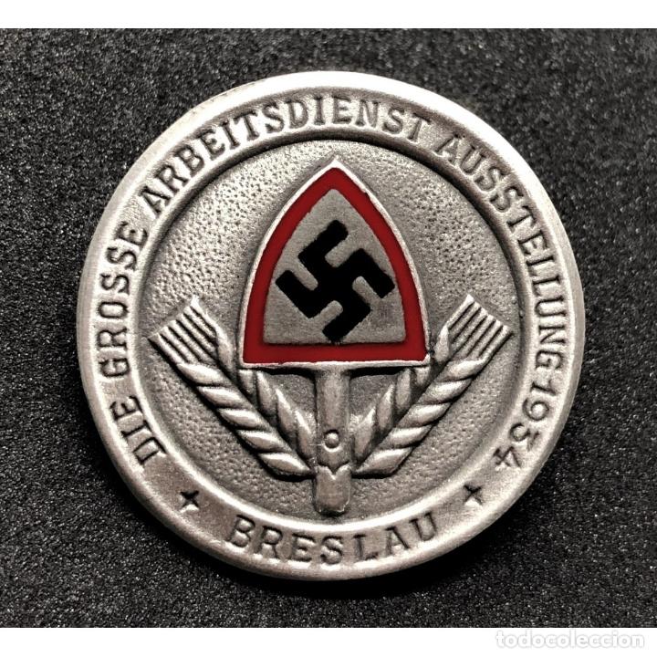 INSIGNIA DEL RAD BRESLAU 1934 NSDAP ALEMANIA PARTIDO NAZI TERCER REICH (Militar - Reproducciones y Réplicas de Medallas )