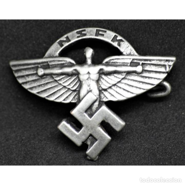 INSIGNIA DEL NSFK NSDAP ALEMANIA PARTIDO NAZI TERCER REICH (Militar - Reproducciones y Réplicas de Medallas )
