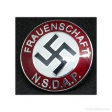 Militaria: INSIGNIA PIN NSDAP PARA MUJERES DEL PARTIDO ALEMANIA PARTIDO NAZI TERCER REICH. Lote 181072521