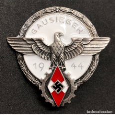 Militaria: INSIGNIA HJ HITLERJUGEND GAUSIEGER 1944 NSDAP ALEMANIA PARTIDO NAZI TERCER REICH. Lote 244629605