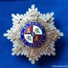 Militaria: PLACA CRUZ DE GUERRA EGAÑA. Lote 181085903