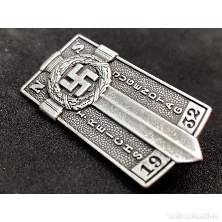 Militaria: INSIGNIA HJ HITLERJUGEN POTSDAM NSDAP Alemania Partido Nazi Tercer Reich - Foto 3 - 227453255