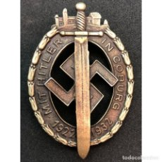 Militaria: INSIGNIA DE COBURGO 1927 1932 NSDAP ALEMANIA PARTIDO NAZI TERCER REICH. Lote 181402791