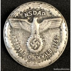 Militaria: INSIGNIA KREISTREFFEN ODENWALD 1938 NSDAP ALEMANIA PARTIDO NAZI TERCER REICH. Lote 181506918