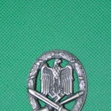 Militaria: INSIGNIA DE ASALTO GENERAL-3ER REICH ALEMANIA. Lote 181570977
