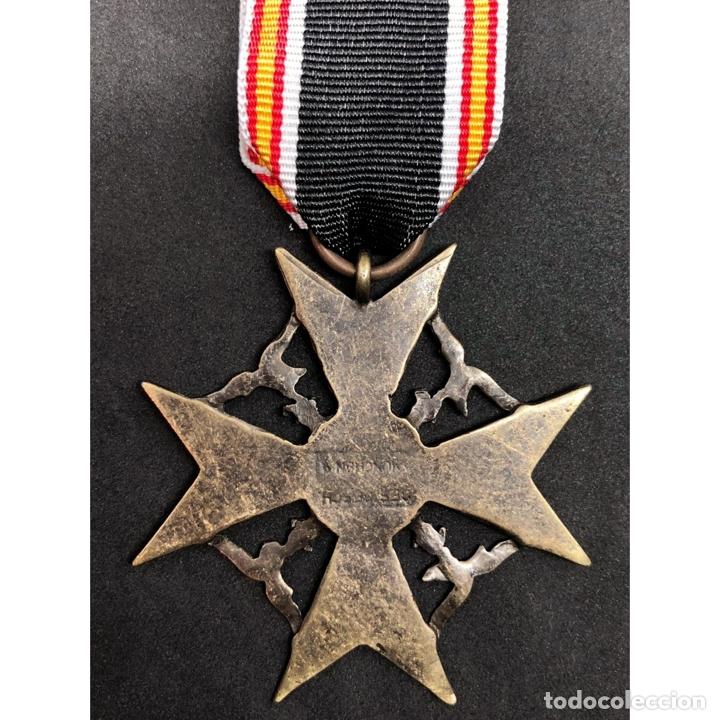 Militaria: MEDALLA CRUZ DE GUERRA ESPAÑOLA Legión Condor Alemania Nazi Tercer Reich - Foto 2 - 262494740