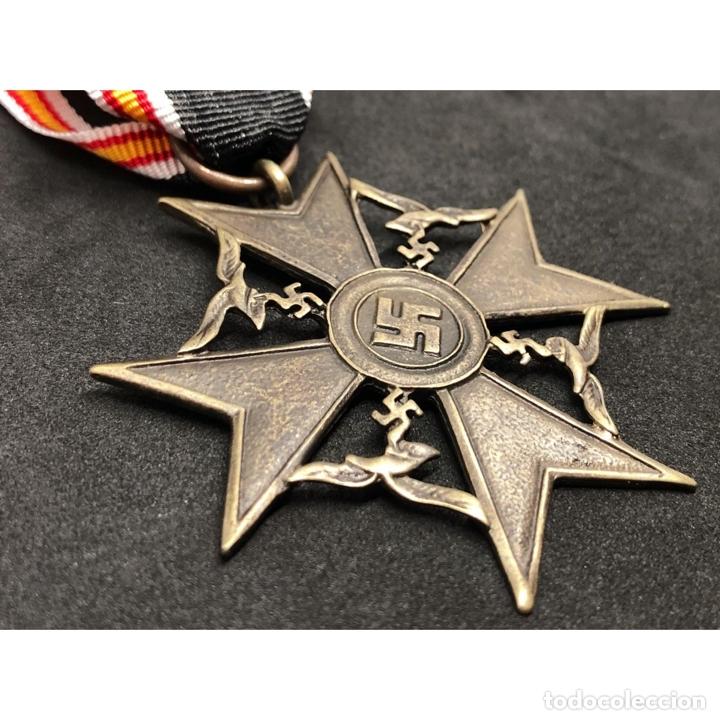 Militaria: MEDALLA CRUZ DE GUERRA ESPAÑOLA Legión Condor Alemania Nazi Tercer Reich - Foto 3 - 262494740