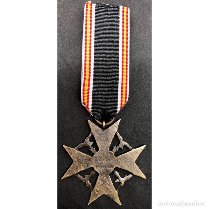 Militaria: MEDALLA CRUZ DE GUERRA ESPAÑOLA Legión Condor Alemania Nazi Tercer Reich - Foto 6 - 262494740