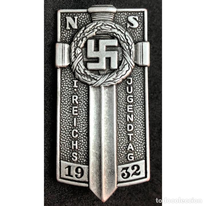 INSIGNIA HJ HITLERJUGEN POTSDAM NSDAP ALEMANIA PARTIDO NAZI TERCER REICH (Militar - Reproducciones y Réplicas de Medallas )