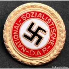 Militaria: INSIGNIA PIN DEL NSDAP CATEGORIA ORO ALEMANIA PARTIDO NAZI TERCER REICH. Lote 191822146