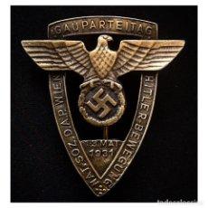 Militaria: INSIGNIA GAU DEL NSDAP VIENA 1931 ALEMANIA PARTIDO NAZI TERCER REICH. Lote 181605977