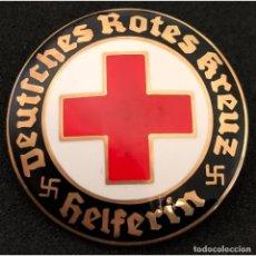 Militaria: INSIGNIA PIN DRK CRUZ ROJA ALEMANA ALEMANIA PARTIDO NAZI TERCER REICH. Lote 181758720
