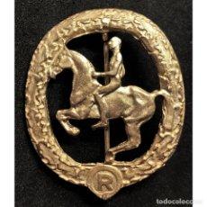 Militaria: INSIGNIA DEUTSCHES REITER CATEGORIA ORO ALEMANIA PARTIDO NAZI TERCER REICH. Lote 181765037
