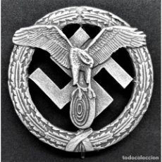 Militaria: INSIGNIA DEUTSCHES MOTORSPORT CATEGORIA PLATA ALEMANIA PARTIDO NAZI TERCER REICH. Lote 181765387