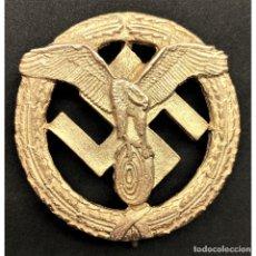 Militaria: INSIGNIA DEUTSCHES MOTORSPORT CATEGORIA ORO ALEMANIA PARTIDO NAZI TERCER REICH. Lote 181765492
