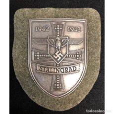 Militaria: ESCUDO DE COMBATE STALINGRADO 1942 1943 ALEMANIA NAZI TERCER REICH WEHRMACHT. Lote 220710693