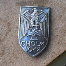 Militaria: INSIGNIA SHOLM 1942 ESCUDO DE BATALLA TERCER REICH. NAZI. Lote 237467340