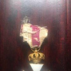 Militaria: MEDALLA SAN HERMENEGILDO ÉPOCA ALFONSO XII CORONA MÓVIL Y PRIMERA ÉPOCA. Lote 181903187
