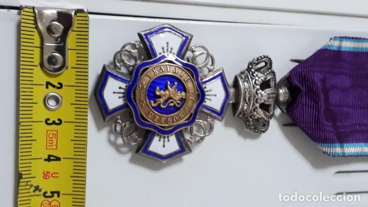 Militaria: CONDECORACIÓN ORDEN DE LEOPOLDO DE BÉLGICA EN PLATA.CON CAJA - Foto 5 - 182137520