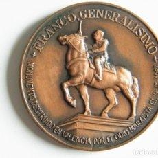 Militaria: MEDALLA FUNDACIÓN NACIONAL FRANCISCO FRANCO VIII ANIVERSARIO FRANCO GENERALISIMO . Lote 182263823