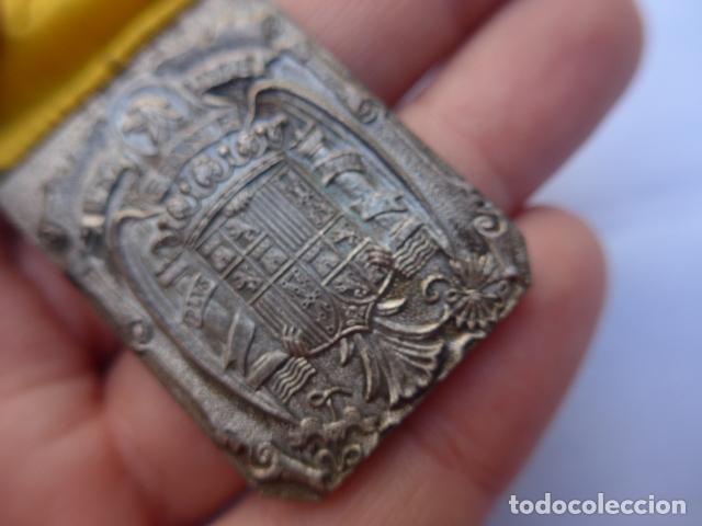 Militaria: * Antigua medalla de damas auxiliares de guerra civil, sanidad militar, original. ZX - Foto 6 - 182329970