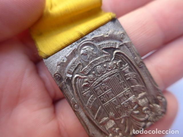 Militaria: * Antigua medalla de damas auxiliares de guerra civil, sanidad militar, original. ZX - Foto 7 - 182329970