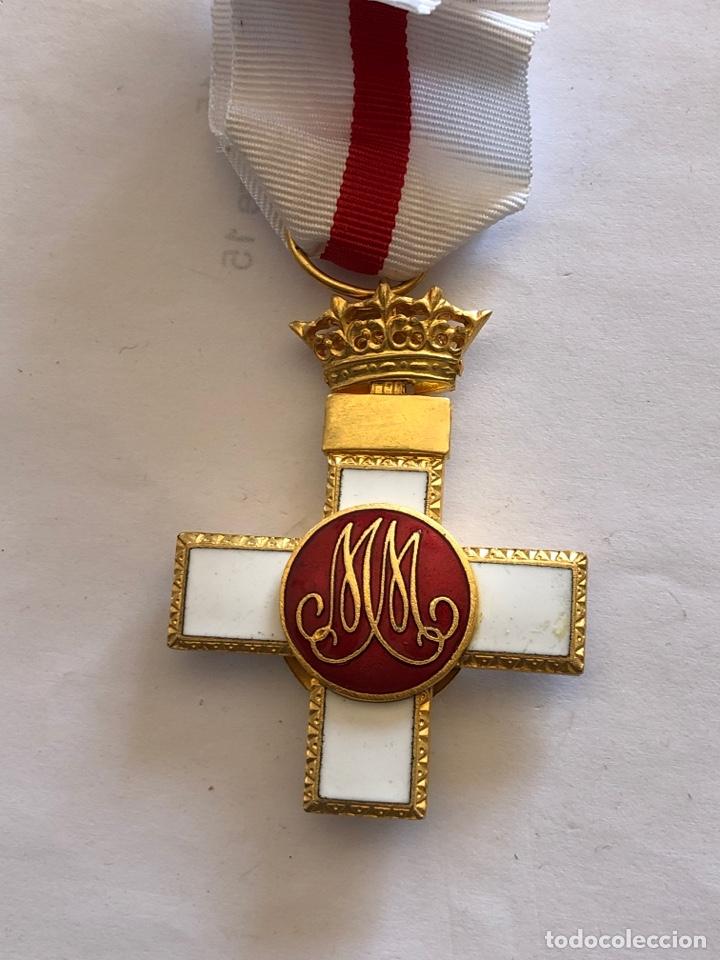 Militaria: Medalla cruz mérito militar distintivo blanco - Foto 2 - 182357877