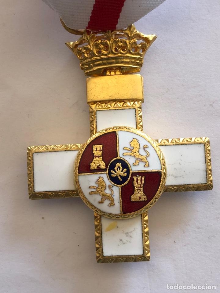 Militaria: Medalla cruz mérito militar distintivo blanco - Foto 3 - 182357877