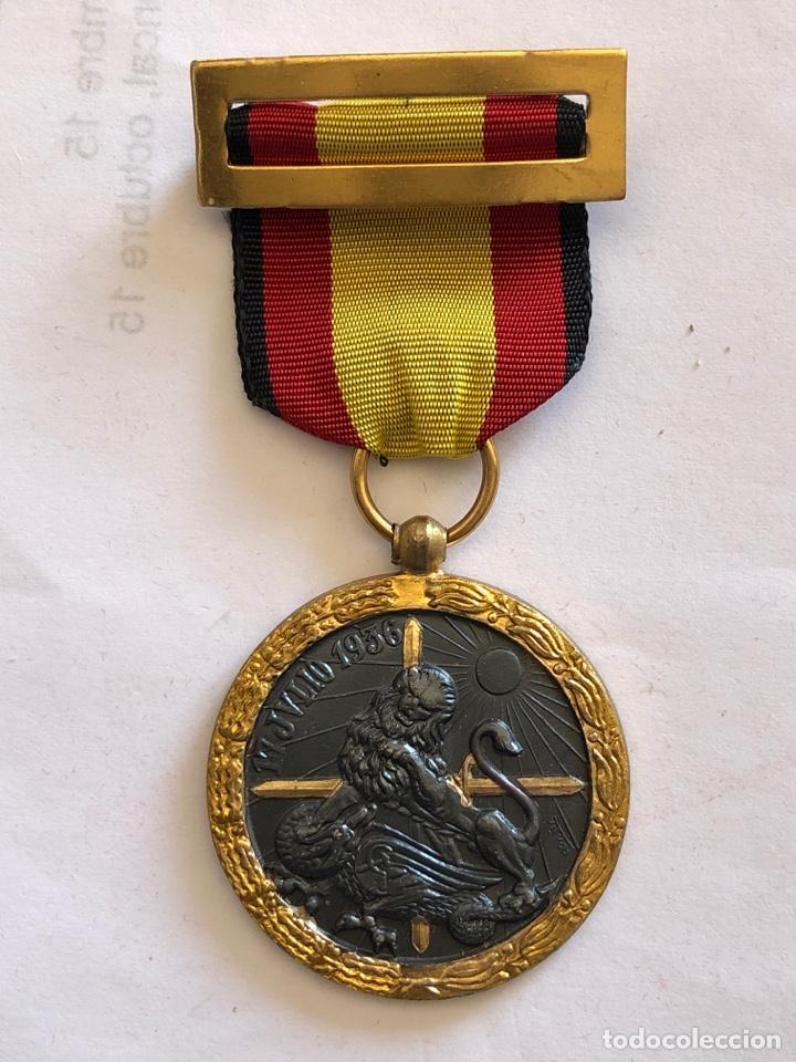 MEDALLA GUERRA CIVIL 17 JULIO 1936. MÉRITO EN CAMPAÑA (Militar - Medallas Españolas Originales )
