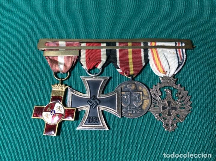PASADOR DE LA DIVISIÓN AZUL (Militar - Medallas Españolas Originales )