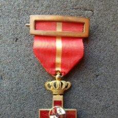 Militaria: (JX-191113)MEDALLA MERITO MILITAR DISTINTIVO ROJO , ÉPOCA ALFONSINA , TAMAÑO PRINCESA .. Lote 182390532