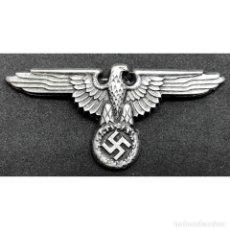 Militaria: INSIGNIA GORRA SS AGUILA ALEMANIA TERCER REICH PARTIDO NAZI SCHUTZSTAFFEL. Lote 195400133