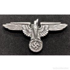 Militaria: INSIGNIA GORRA SS AGUILA ALEMANIA TERCER REICH PARTIDO NAZI SCHUTZSTAFFEL. Lote 182412551