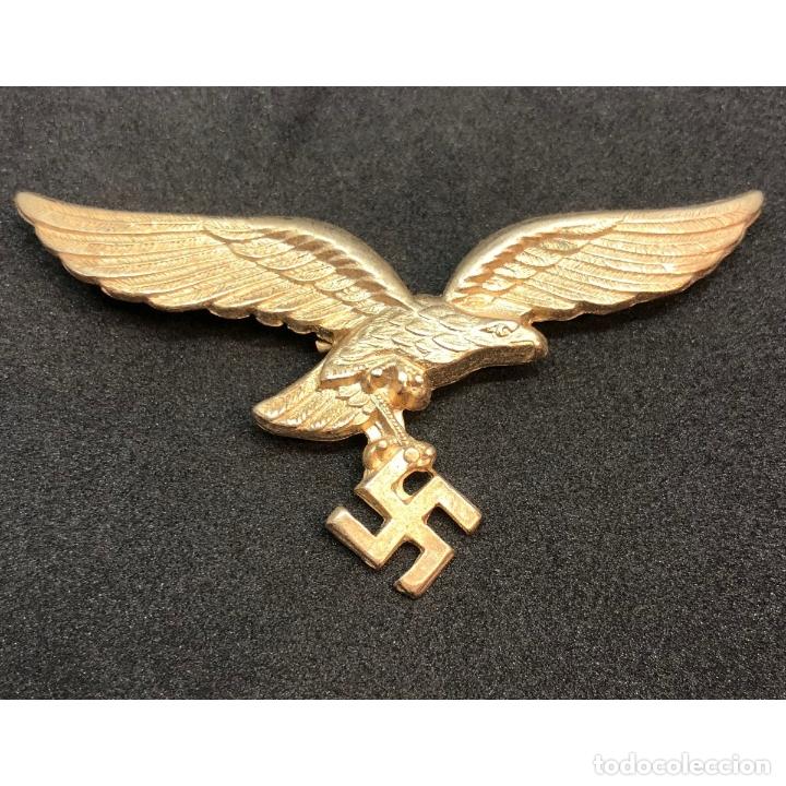 INSIGNIA GORRA LUFTWAFFE ALEMANIA TERCER REICH PARTIDO NAZI WEHRMACHT (Militar - Reproducciones y Réplicas de Medallas )