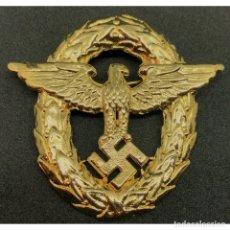 Militaria: INSIGNIA GORRA AGUILA PARA OFICIALES ALEMANIA TERCER REICH PARTIDO NAZI WEHRMACHT. Lote 182417945