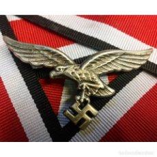 Militaria: INSIGNIA AGUILA CASCO COLONIAL AFRIKA KORPS ALEMANIA TERCER REICH PARTIDO NAZI WEHRMACHT. Lote 182418812