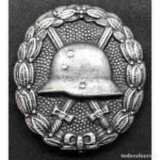 Militaria: INSIGNIA HERIDO CATEGORIA PLATA WWI PRIMERA GUERRA MUNDIAL ALEMANIA IMPERIO ALEMÁN. Lote 182616647