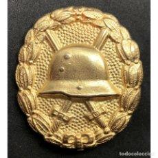 Militaria: INSIGNIA HERIDO CATEGORIA ORO WWI PRIMERA GUERRA MUNDIAL ALEMANIA IMPERIO ALEMÁN. Lote 182616686