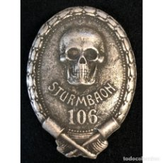 Militaria: INSIGNIA STURMBAON WWI PRIMERA GUERRA MUNDIAL ALEMANIA IMPERIO ALEMÁN. Lote 200248383