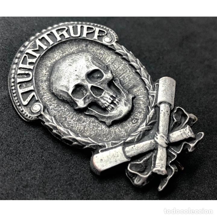 Militaria: INSIGNIA STURMTRUPPEN WWI Primera Guerra Mundial Alemania Imperio Alemán - Foto 3 - 182617480