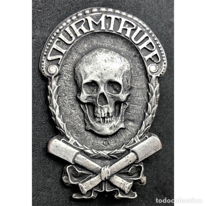 INSIGNIA STURMTRUPPEN WWI PRIMERA GUERRA MUNDIAL ALEMANIA IMPERIO ALEMÁN (Militar - Reproducciones y Réplicas de Medallas )