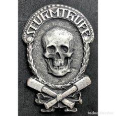 Militaria: INSIGNIA STURMTRUPPEN WWI PRIMERA GUERRA MUNDIAL ALEMANIA IMPERIO ALEMÁN. Lote 182617480