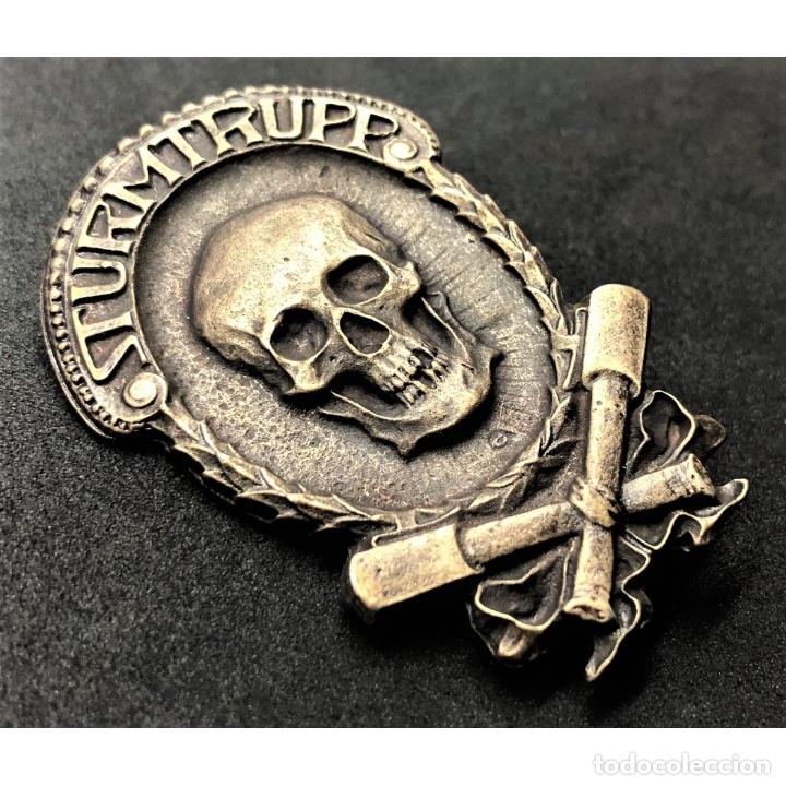 Militaria: INSIGNIA STURMTRUPPEN WWI Primera Guerra Mundial Alemania Imperio Alemán - Foto 3 - 182617703