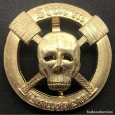 Militaria: INSIGNIA STURMTRUPPEN WWI PRIMERA GUERRA MUNDIAL ALEMANIA IMPERIO ALEMÁN. Lote 182617768