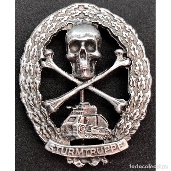 INSIGNIA PANZERKAMPF WWI PRIMERA GUERRA MUNDIAL ALEMANIA IMPERIO ALEMÁN (Militar - Reproducciones y Réplicas de Medallas )