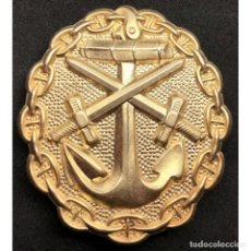 Militaria: INSIGNIA HERIDO MARINA IMPERIAL WWI PRIMERA GUERRA MUNDIAL ALEMANIA IMPERIO ALEMÁN. Lote 182619206