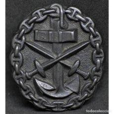 Militaria: INSIGNIA HERIDO EN NEGRO MARINA IMPERIAL WWI PRIMERA GUERRA MUNDIAL ALEMANIA IMPERIO ALEMÁN. Lote 182619351