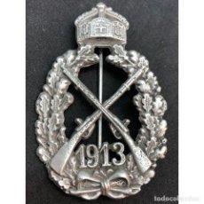 Militaria: INSIGNIA INFANTERIA DEL KAISER 1913 WWI PRIMERA GUERRA MUNDIAL ALEMANIA IMPERIO ALEMÁN. Lote 182620116