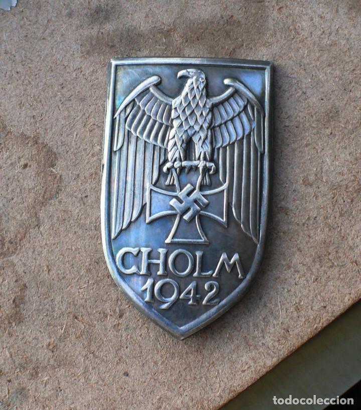 INSIGNIA SHOLM 1942 ESCUDO DE BATALLA TERCER REICH. NAZI (Militar - Reproducciones y Réplicas de Medallas )