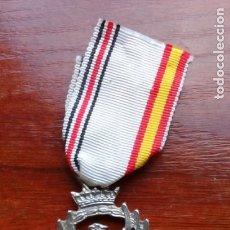 Militaria: DIVISIÓN AZUL MEDALLA DE LA CAMPAÑA DE RUSIA. RÉPLICA. Lote 182641230